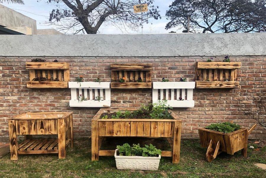 creative pallet garden design ideas palletplants.uy