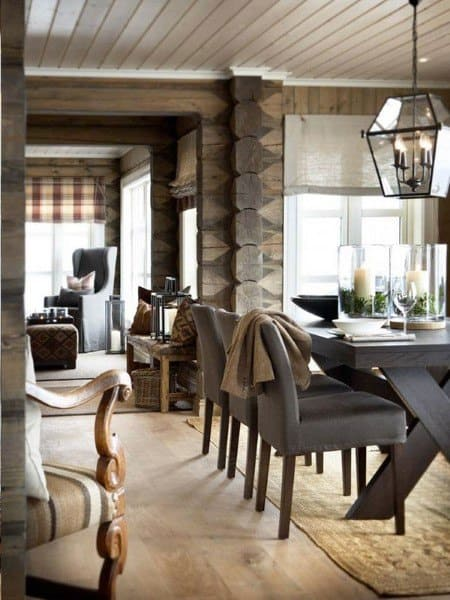 Creative Rustic Dining Room Ideas