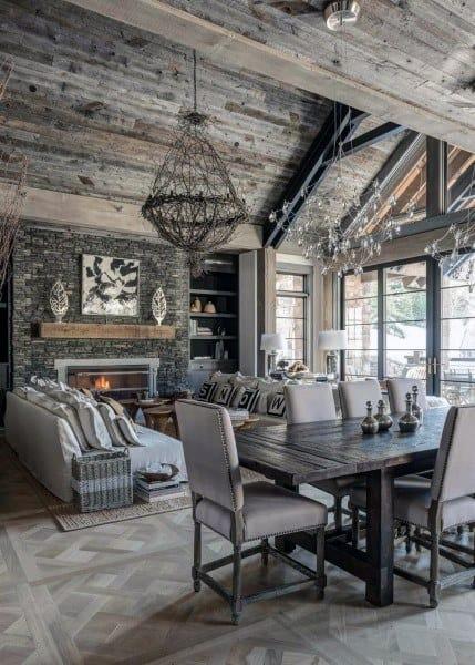 Creative Rustic Living Room Ideas