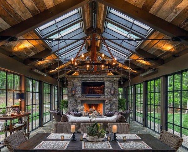 Creative Sunroom Interior Ideas
