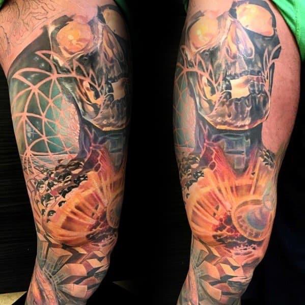 Creative Trippy Tattoos For Men