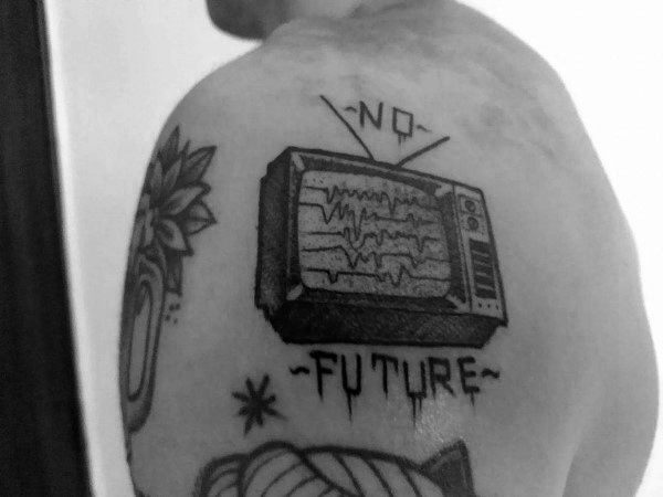 Creative Tv Tattoos For Guys