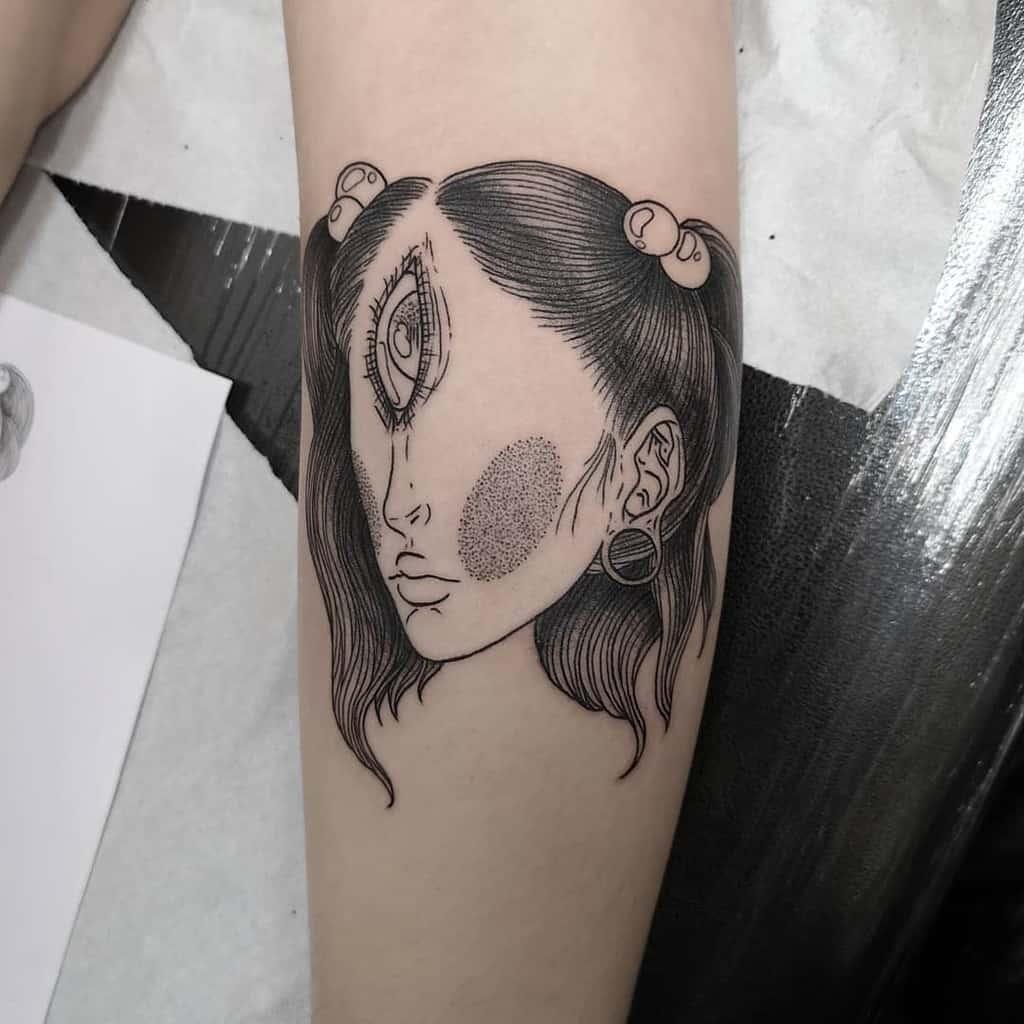 Creepy Cyclops Tattoo