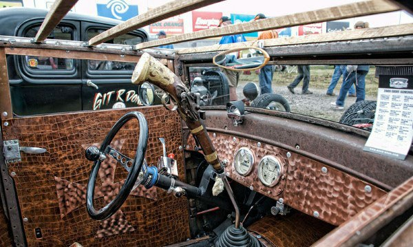 Top 50 Best Rat Rod Interior Ideas Retro Automotive Designs