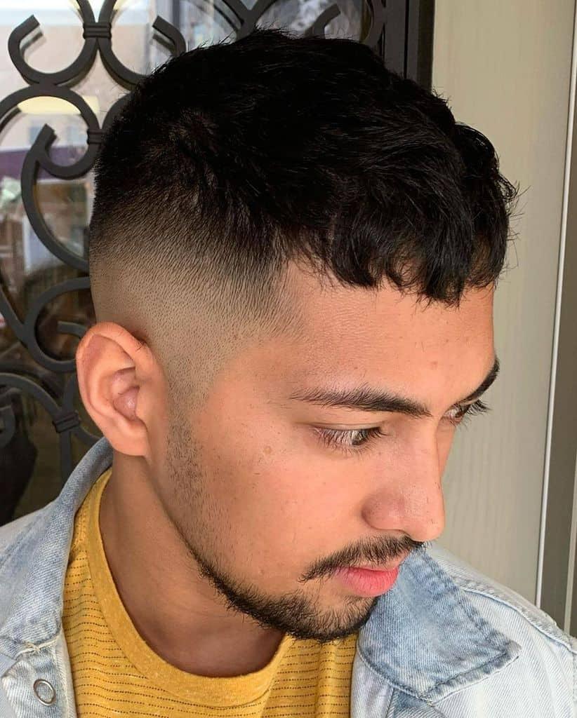 Crop Fade Hair Cut