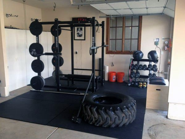 Cross Fit Garage Gym Private Exercise Space Ideas