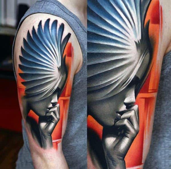 Cross Tattoo Designs For Men On Arm
