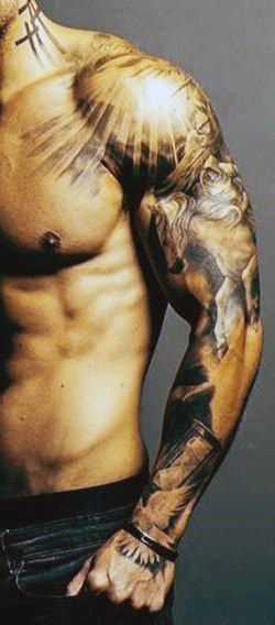 Top 60 Best Cross Tattoos For Men - Photo Ideas And Designs