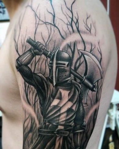 Cross Tattoos For Men On Ribs