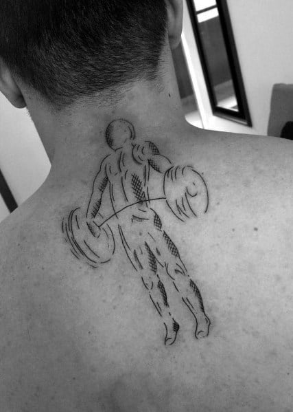 Crossfit Tattoo Designs For Gentlemen