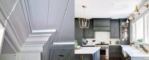 Top 70 Best Crown Molding Ideas – Ceiling Interior Designs