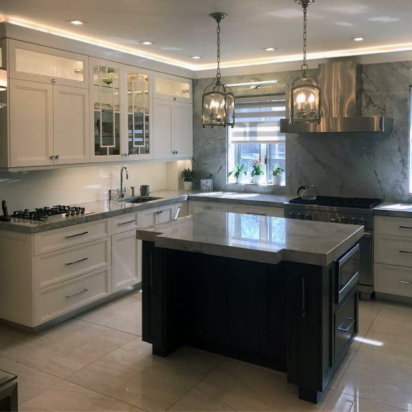 Crown Molding Kitchen Lighting Interior Design
