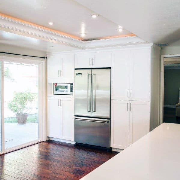 Crown Molding Lighting Design Inspiration Kitchen