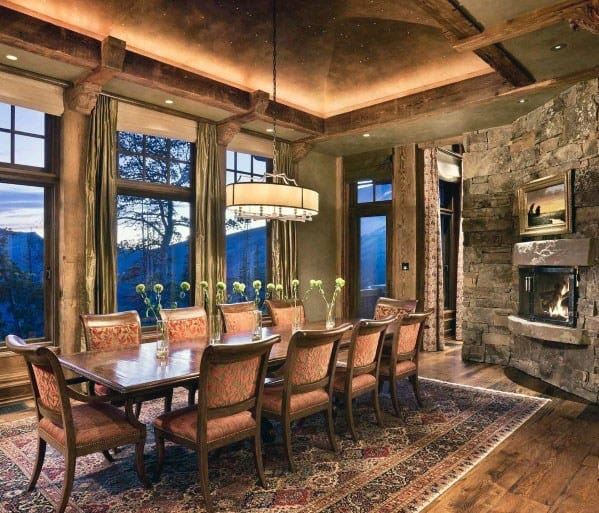 Crown Molding Lighting Home Designs Dining Room