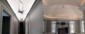 Top 40 Best Crown Molding Lighting Ideas – Modern Interior Designs