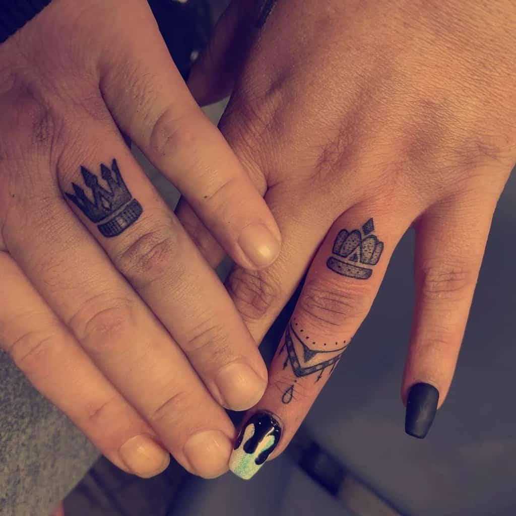 Crown Wedding Ring Tattoo Jodybisme