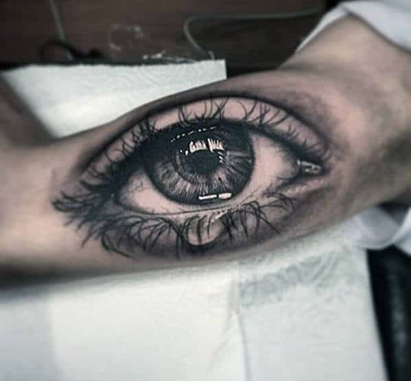 Tattoo Ideas Eyes: 50 Realistic Eye Tattoo Designs For Men