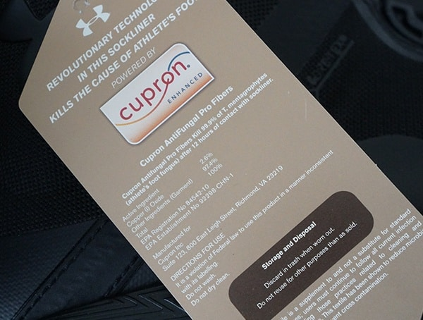 Cupron Insole Explained Under Armour Fat Tire Gore Tex Hiking Boots
