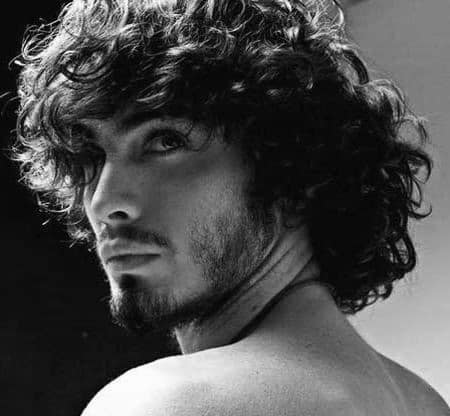 Best hairstyle options for naturally curly hair men