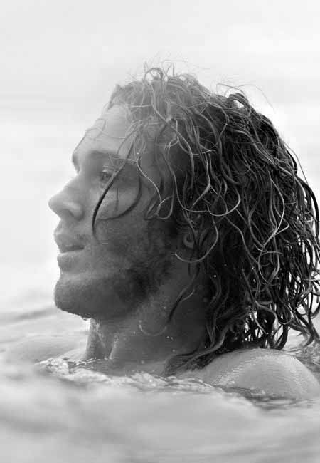 Curly Long Length Surfer Hair For Guys