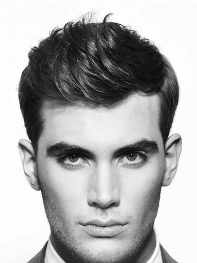 Curly Modern Hairstyles For Men