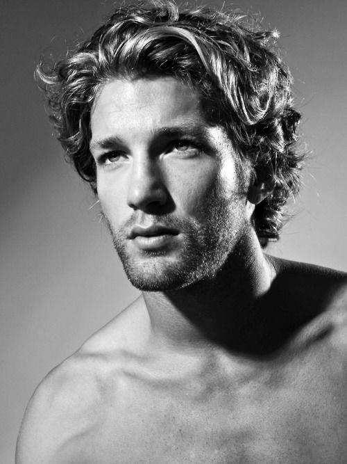 Curly Surfer Hair For Men