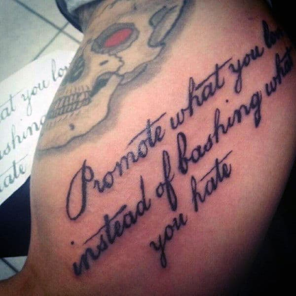 With meaning quotes tattoo 9 Cliche