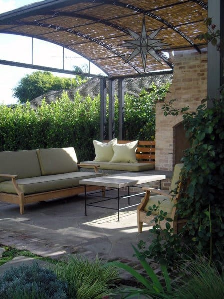 Top 60 Patio Roof Ideas - Covered Shelter Designs on Curved Patio Ideas id=35361