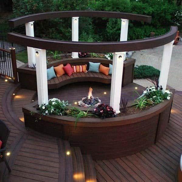 Top 60 Best Deck Bench Ideas