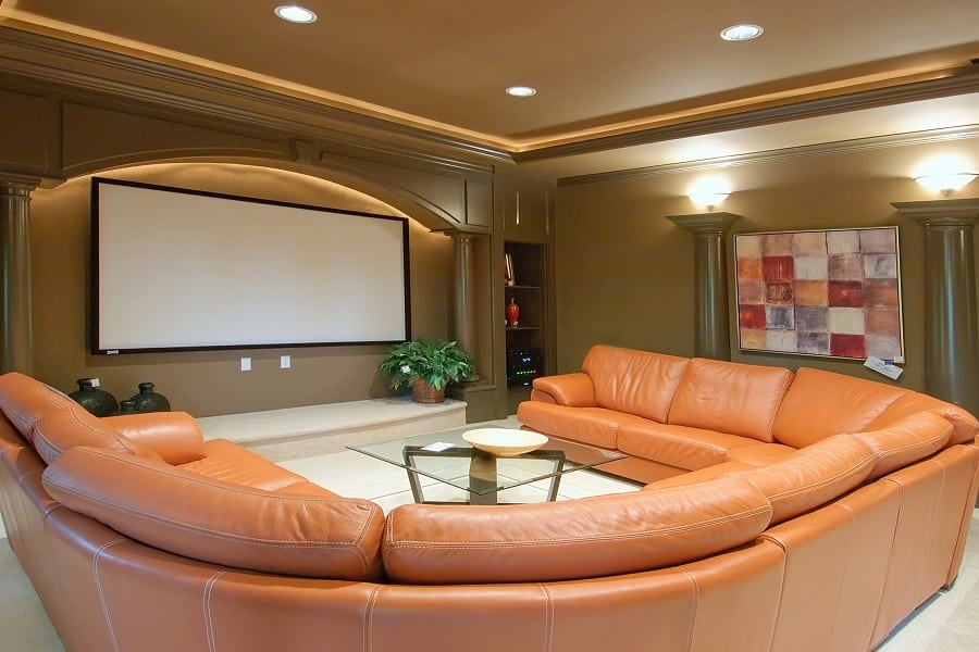Home Theater Seats Ideas