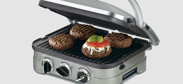 Cuisinart 5-in-1 Griddler For Bachelor Pads