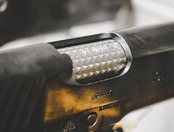 Custom 1911 Barrel Finish