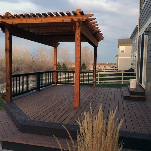 Top 60 Best Backyard Deck Ideas - Wood And Composite ... on Wood Deck Ideas For Backyard id=13356