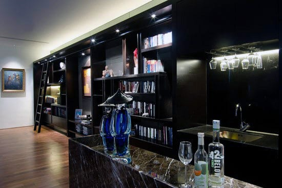 Custom Basement Man Cave Bar Designs