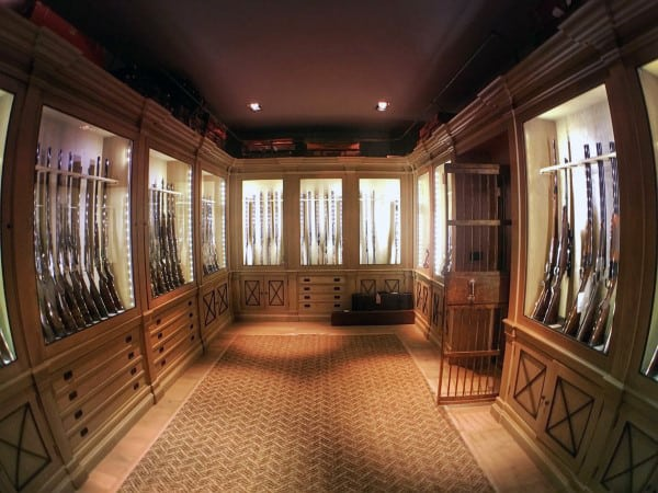 Custom Cabinets Gun Room Ideas