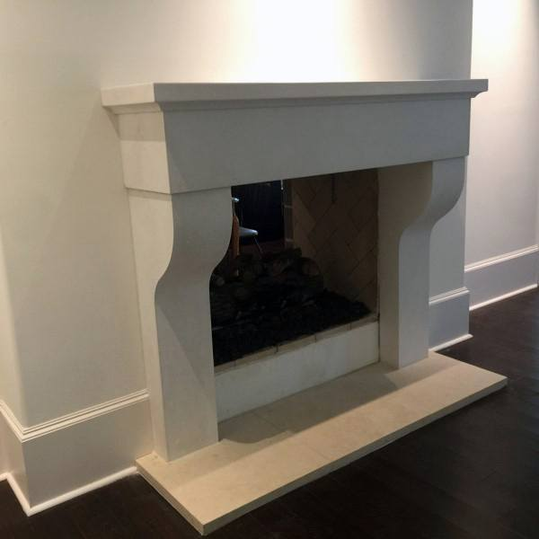 Custom Cast Concrete Fireplace Mantel Designs