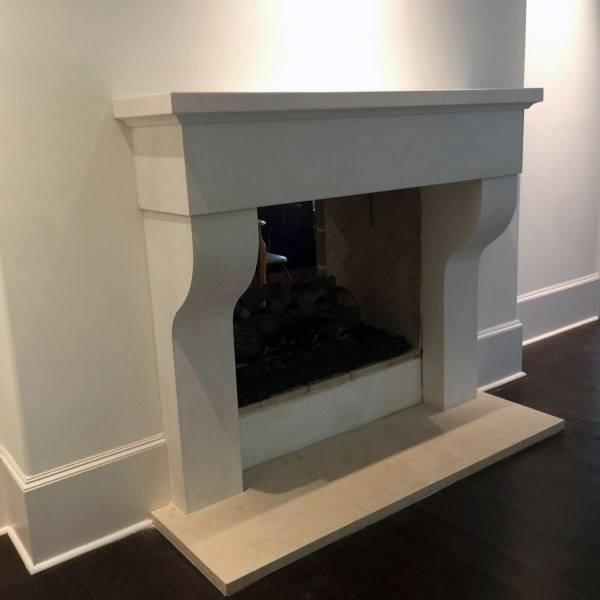 Custom Cast Concrete Fireplace Mantel Designs