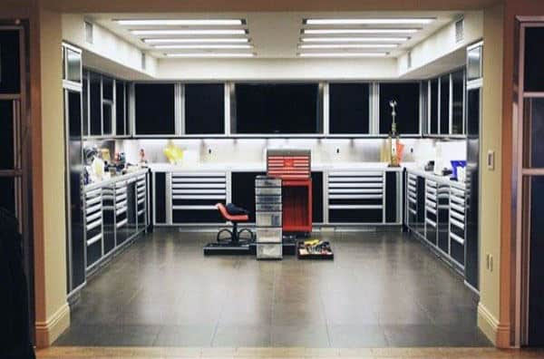 Custom Garage Work Shop Organization Ideas