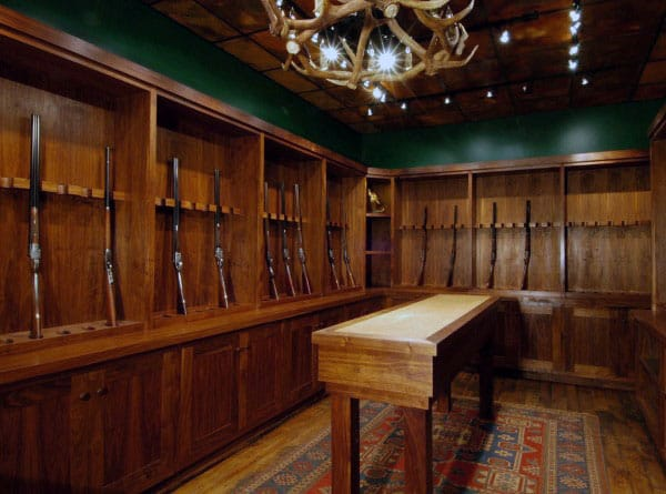 Top 100 Best Gun Room Designs Armories You Ll Want To