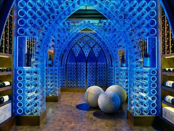 Custom Home Wine Cellar Room Ideas