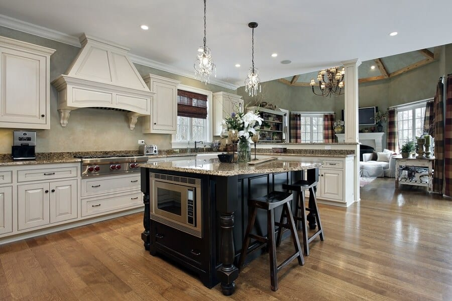 granite kitchen countertop ideas