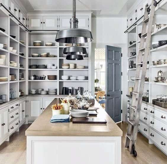 Custom Kitchen Pantry Ideas