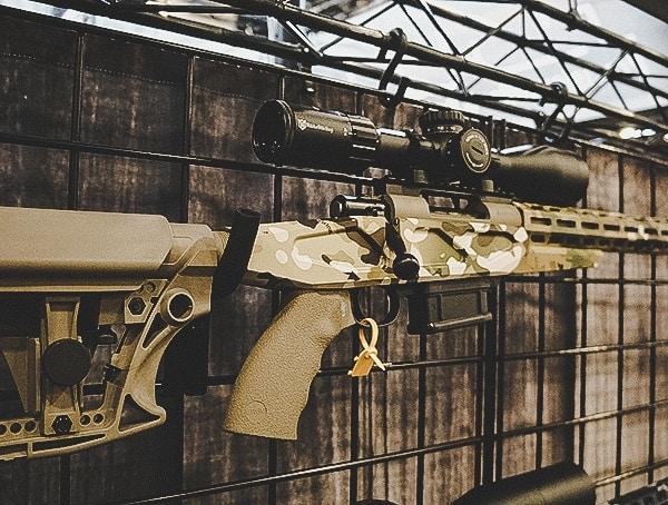Custom Rifles Shot Show 2019 Multicam