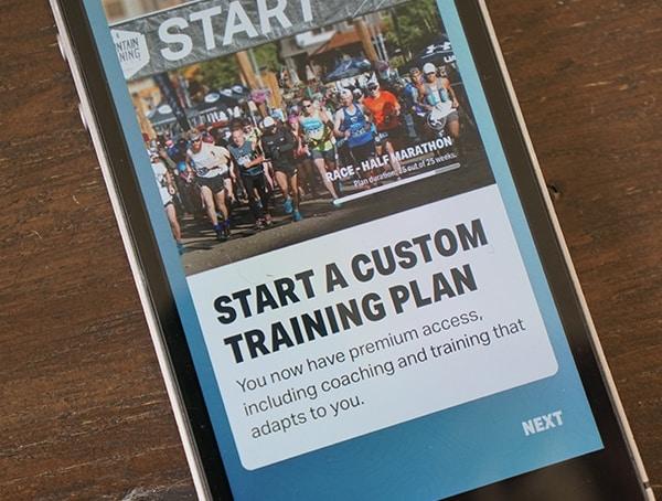 Custom Training Plans Map My Run Under Armour App For Hovr Sonic