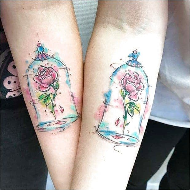 Cute And Creative Small Disney Tattoo