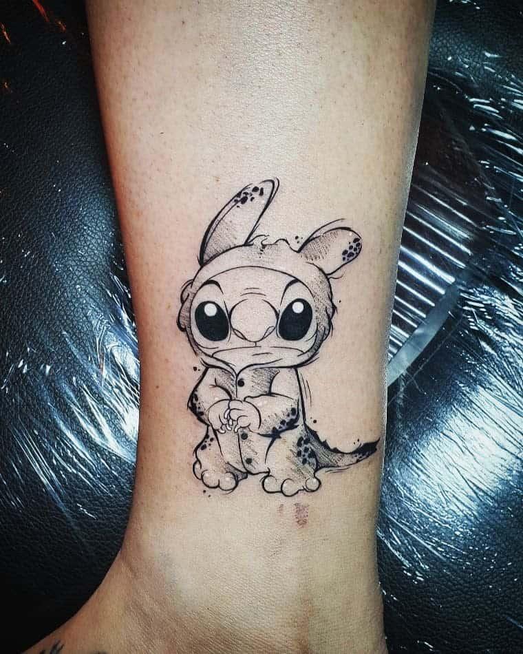 Stiched Leg Tattoo: Top 65 Best Stitch Tattoo Ideas