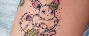 Top 77 Best Eevee Tattoo Ideas – [2020 Inspiration Guide]