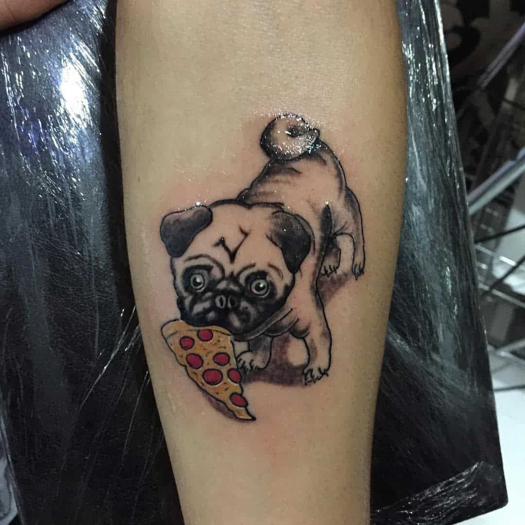 Cute Pug Tattoo Seerdartas