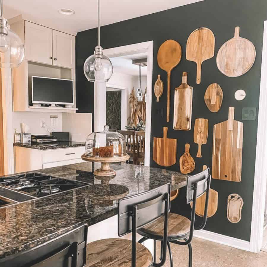 cutting board wall kitchen wall decor ideas myrusticmodernliving