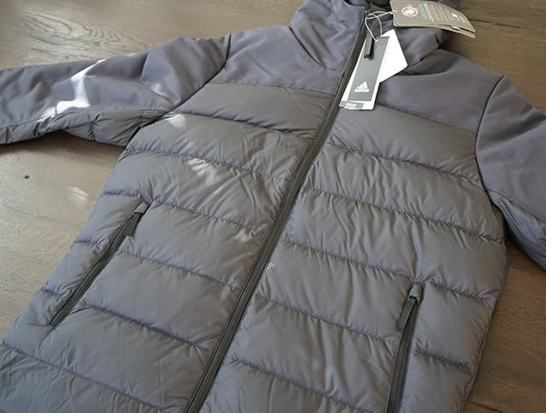 Cy8621 Front Zipped Close Mens Adidas Climarwarm Jacket